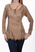 Scully Lace Front Blouse