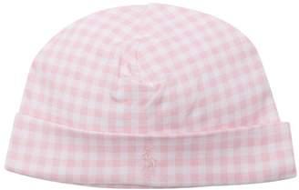 Ralph Lauren Kids gingham checked hat