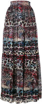 Just Cavalli - printed full skirt -