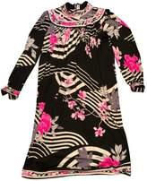Leonard Black Silk Dress for Women Vintage