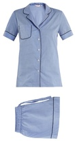Derek Rose Shortie cotton-batiste pyjama set
