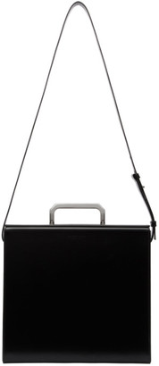 Bottega Veneta Black Medium Briefcase
