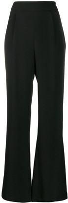 LA COLLECTION Silk Wide-Leg Trousers