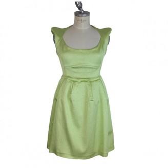 Mangano Green Polyester Dresses