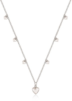 Nomination Sterling Silver Mini Hearts Charm Necklace