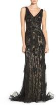 Jovani Women's Sequin Lace Mermaid Gown