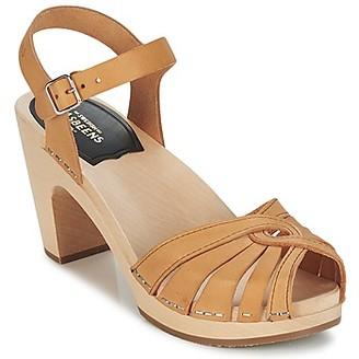 Swedish Hasbeens FREDERICA women's Sandals in Beige