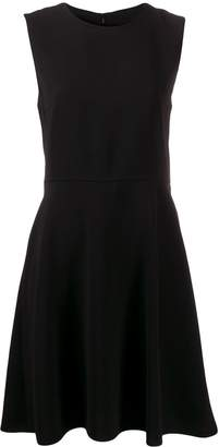 Theory flared sleeveless dress