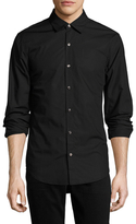 BLK DNM Solid Cotton Sportshirt