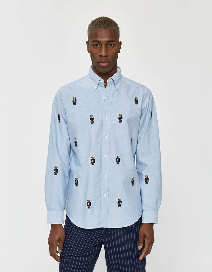 0cac065f5 Ralph Lauren Polo Mens Oxford Shirt - ShopStyle