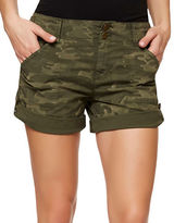 Sanctuary Habitat Camo-Print Cotton-Blend Shorts