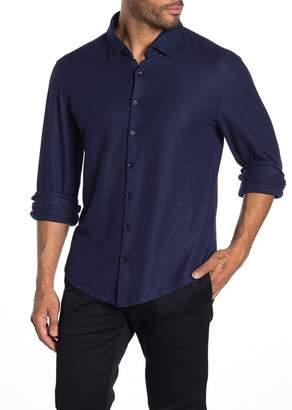 Stone Rose Performance Waffle Knit Regular Fit Shirt