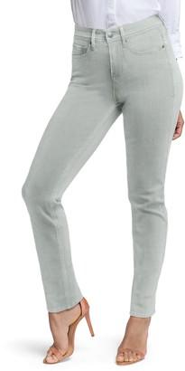 Curves 360 by NYDJ Slim Straight Leg Ankle Jeans (Regular & Plus Size)