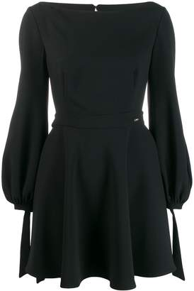 Elisabetta Franchi open back mini dress