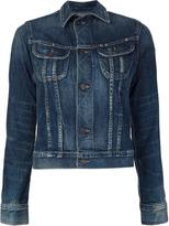 Citizens of Humanity chest pockets denim jacket - women - Cotton/Polyurethane - XS
