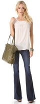 Joie Mid Rise Flare Jeans