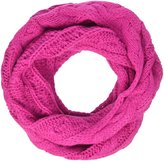Appaman Cable Knit Infinity Scarf (Kid) - Fuchsia - One Size