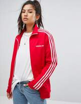 adidas Track Jacket In Red
