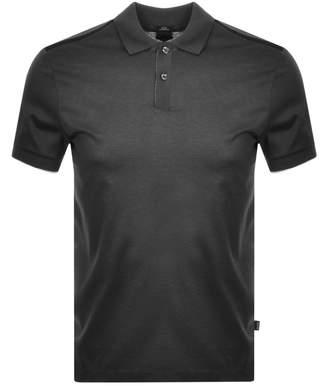 HUGO BOSS Boss Business Phillipson 60 Polo T Shirt Grey