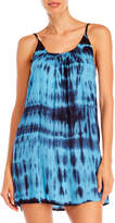 Raviya Tie-Dye Cutout Cover-Up Dress