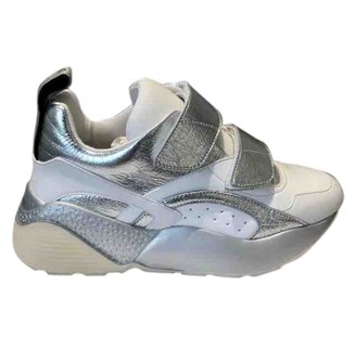 Stella McCartney Stella Mc Cartney Eclypse Silver Polyester Trainers