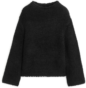 Arket High-Neck Wool Blend Jumper