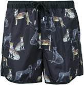 "The Upside 5"" printed shorts - men - Polyamide - M"