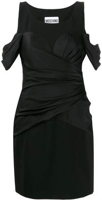 Moschino draped short dress