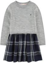 Bonpoint Bi-material wool dress