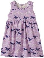 Winter Water Factory Oslo Dress (Baby) - Lavender/Purple - 3 Months