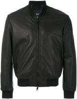 Armani Jeans high-neck zip jacket