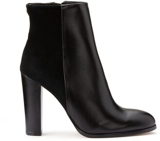 Cosmo Paris Cecillia Heeled Leather Ankle Boots