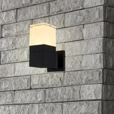 "Bronx Wanette LED Outdoor Armed Sconce Ivy Size: 9.25""H x 4.5""W x 6.75""D"