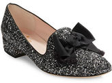 Kate Spade Gino Bow-Accent Glitter Loafers