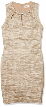 Eliza J Women's Plus-Size Sheath Dress with Cutouts at Neckline
