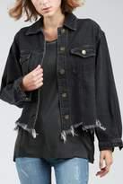 POL Destucted Denim Jacket
