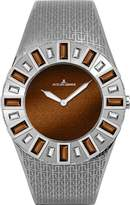 Jacques Lemans Women's 1-1585K Cannes Analog with Swarovski Elements Watch