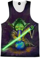 On Cue Apparel Light It Up Tank Top - Premium All Over Print Tanks