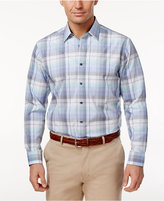 Tasso Elba Men's Plaid Cotton Shirt, Only at Macy's