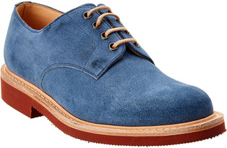 Dunhill Lace-Up Suede Oxford