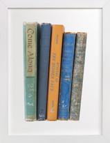 Minted Vintage Books Art Print