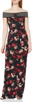 Thumbnail for your product : Gina Bacconi Women's Floral Scuba Maxi Dress Cocktail