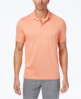 Club Room Men's Textured-Stripe Performance Polo, Only at Macy's