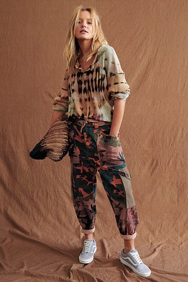 Free People Zion Printed Harem Pants