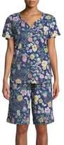 Karen Neuburger Plus Floral Pajamas