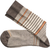 Johnston & Murphy Cotton-Blend Heathered Socks