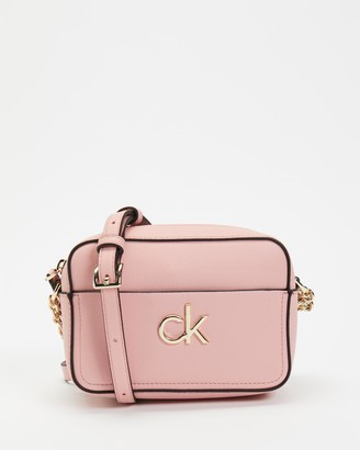 Calvin Klein Women's Pink Cross-body bags - Re-Lock Camera Bag - Size One Size at The Iconic