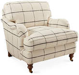 Robin Bruce Brooke Club Chair - Black Check