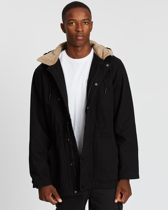Rusty Wax Head Parka Jacket