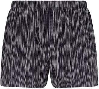 Sunspel Morse Code Print Boxer Shorts